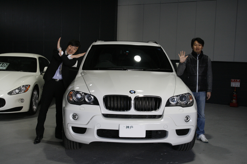 BMW X5 納車